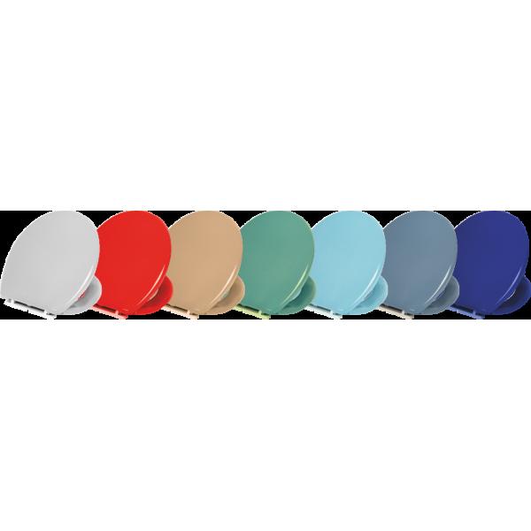 Capac WC colorat - ATLANTIC